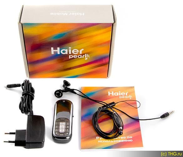 Haier m600 black pearl: маленький блестящий телефон