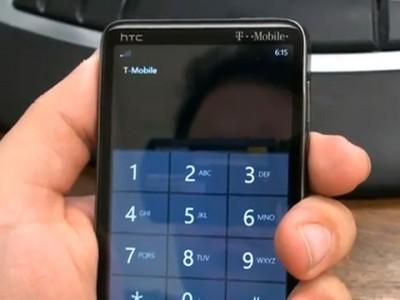 Htc hd7 повторяет судьбу iphone - он тоже теряет сигнал