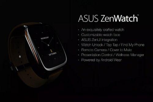 [Ifa 2014] asus официально анонсировали zenwatch