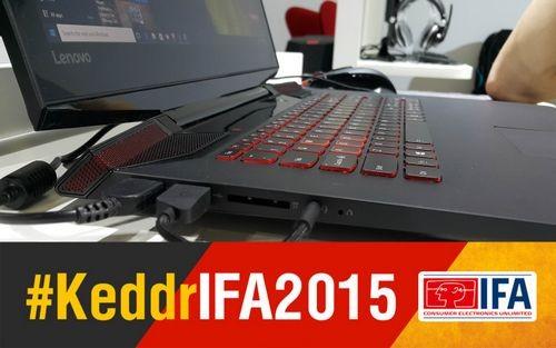 Ifa 2015. новый ноутбук lenovo ideapad y700
