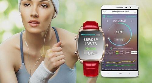 Inew h-one — смарт-часы с датчиком кровяного давления за $83