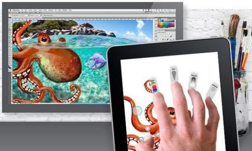 Интеграция ipad в настольную версию adobe photoshop