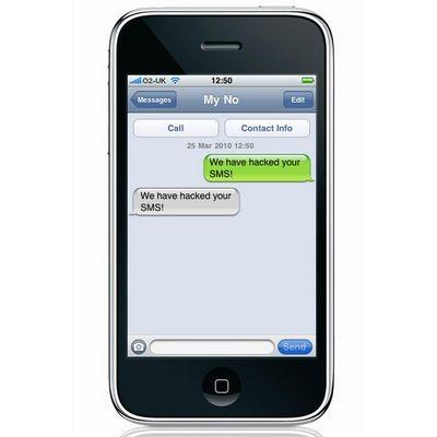 Iphone взломали с помощью sms
