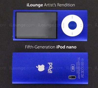 Ipod nano 5g получит камеру и больший дисплей?