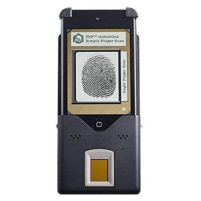 Ipod touch превратили в сканер отпечатков пальцев
