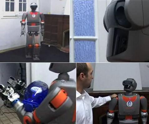 Испанцы разработали гуманоидного робота-помощника