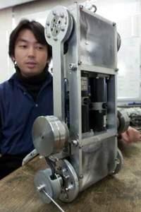 Японец продаёт segway за $1 и делает робота-санитара