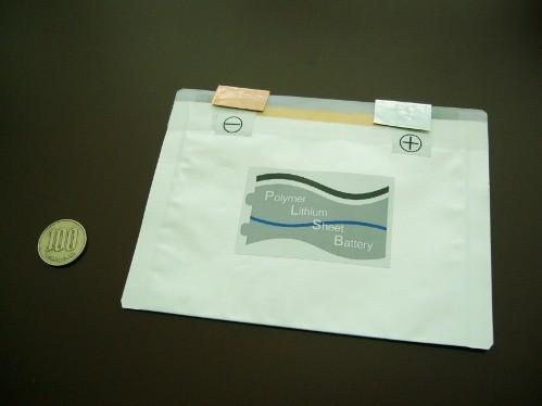 Японские учёные разработали гибкие печатные литий-ионные батареи