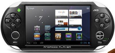 Jxd s7100 – планшет на android с выделенными игровыми клавишами