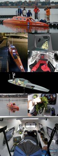 Канадец готовится пересечь тихий океан на педальной лодке