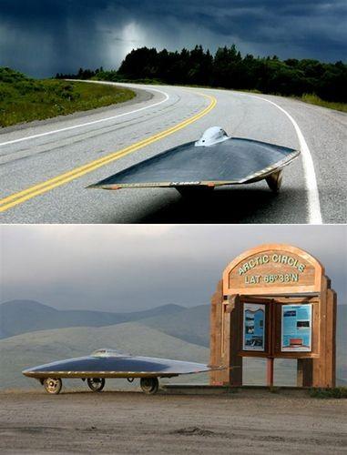 Канадский солнцемобиль установил мировой рекорд