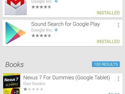 Клиент google play скоро обновится до версии 4.0 с новым дизайном