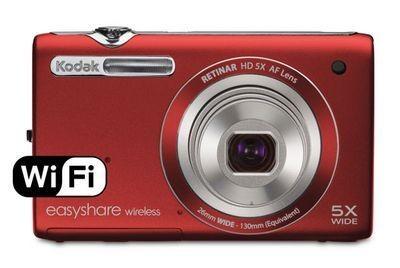 Kodak easyshare wireless camera m750 – компактная фотокамера с модулем wi-fi