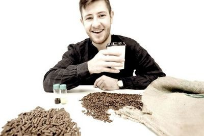 Кофейная гуща как топливо для обогрева города