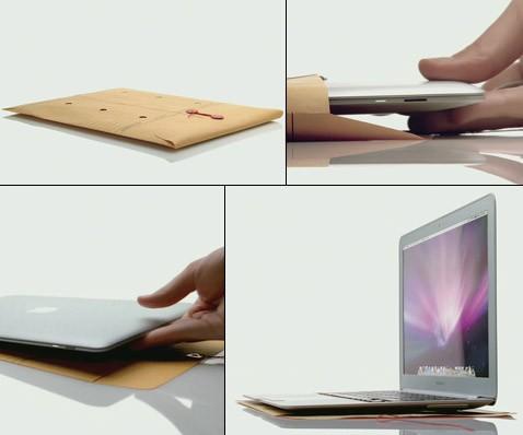 Компания apple представила ультратонкий ноутбук
