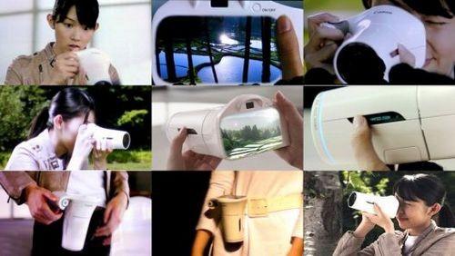 """Концептуальная """"чудо-камера"""" canon обещает совершенные кадры с одним объективом"""