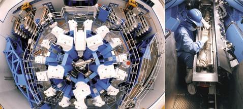 Лазер приблизил астрономов к недрам гигантов