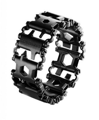 Leatherman tread - металлический браслет, состоящий из множества инструментов