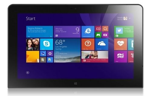 Lenovo представила обновлённый планшет thinkpad 10