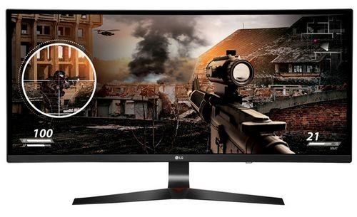 Lg electronics представила в россии новый игровой монитор с изогнутым экраном