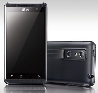 Lg optimus 3d был представлен на mwc 2011 официально