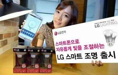 Lg smart bulb – «умные» лампы, которыми можно управлять с помощью смартфона или планшета