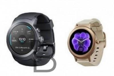 Lg watch sport и watch style засветились на первом пресс-рендере