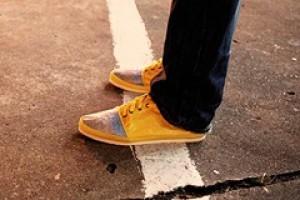 Light wing trainers: лёгкая «бумажная» обувь