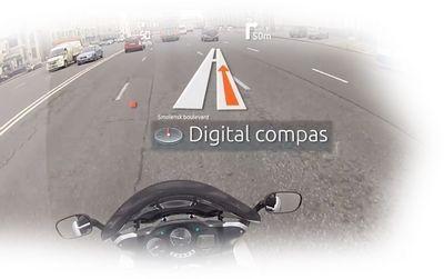 """Livemap - """"умный"""" мотоциклетный шлем от российского стартапа"""