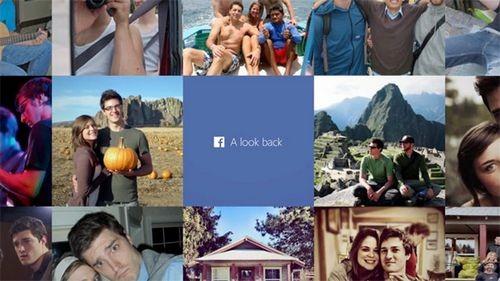 Look back от facebook
