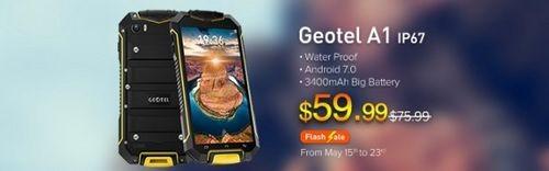 Лучшая цена: распродажа и подарки при покупке geotel a1