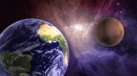 Марс и венера могут столкнуться с землёй