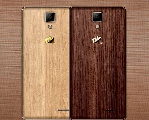 Micromax анонсировала смартфон canvas 5 lite с деревянной тыльной панелью