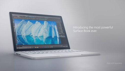 Microsoft анонсировала новый surface book i7