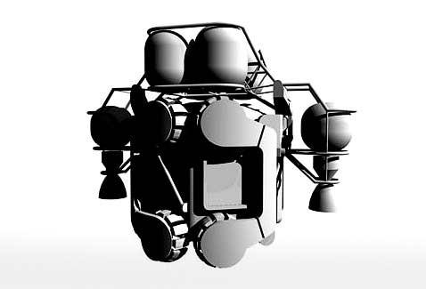 Mobile lunar base: в базе можно покататься на луне