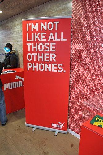 Мобильный телефон под маркой puma – отличная кастомизация