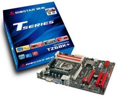 Модельный ряд материнских плат biostar пополнился устройством tz68k+