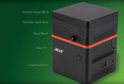 Модульный компьютер acer revo build призван изменить рынок пк