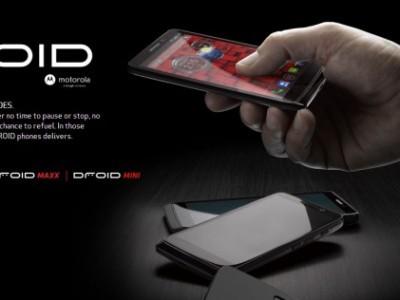 Motorola droid mini представлен официально - компактный аналог droid ultra