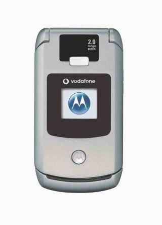 Motorola представила новый телефон razr v3x