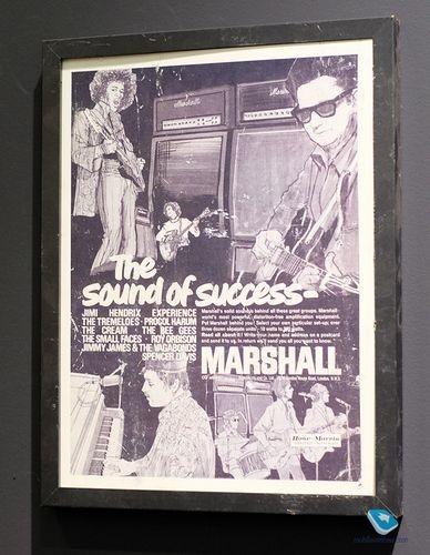 Музыкальный смартфон marshall london