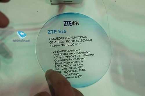 Mwc 2012. zte и десяток смартфонов