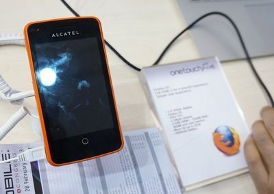 Mwc 2013. представлен alcatel one touch fire на firefox os