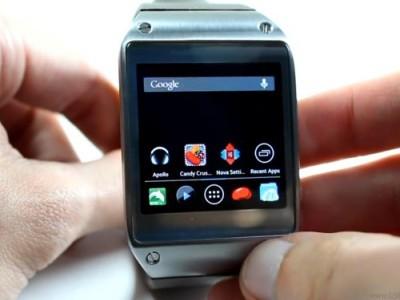 На samsung galaxy gear запустили обычные android-приложения
