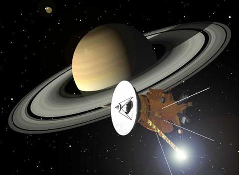 На сатурне зафиксирована самая долгая гроза в истории