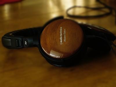 Наушники audio-technica ath-esw9 ltd с деревянными чашками выпущены ограниченной серией