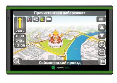 Навигатор navitel nx5300 с поддержкой sim карт и картами 5 стран в комплекте