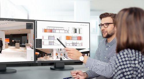 Nec представил 24-дюймовые дисплеи с сертификацией tco displays 7