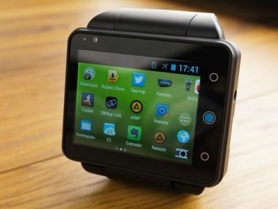 Neptune pine - полноценный android-смартфон в виде часов