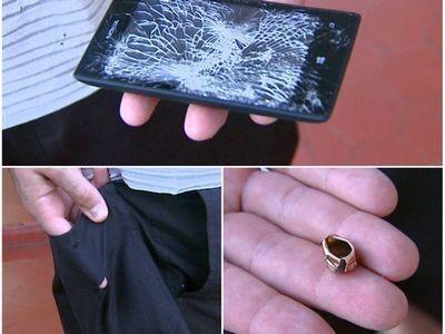 Nokia lumia 520 спас бразильского полицейского от пулевого ранения